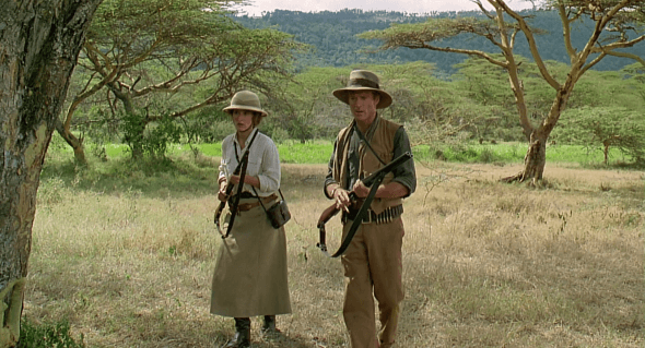 "Safari scene from ""Out of Africa"""