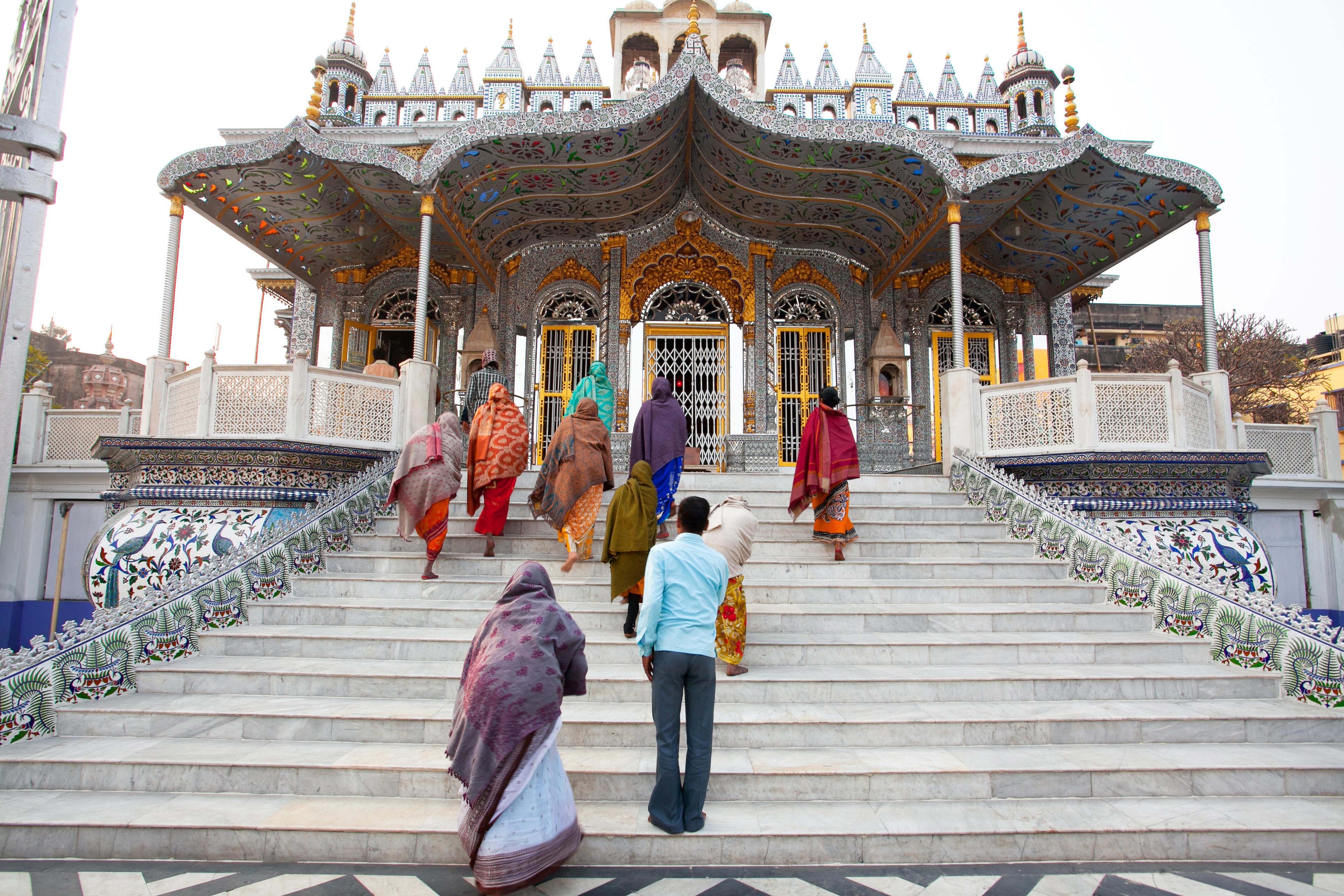 Calcutta Jain Temple entrance