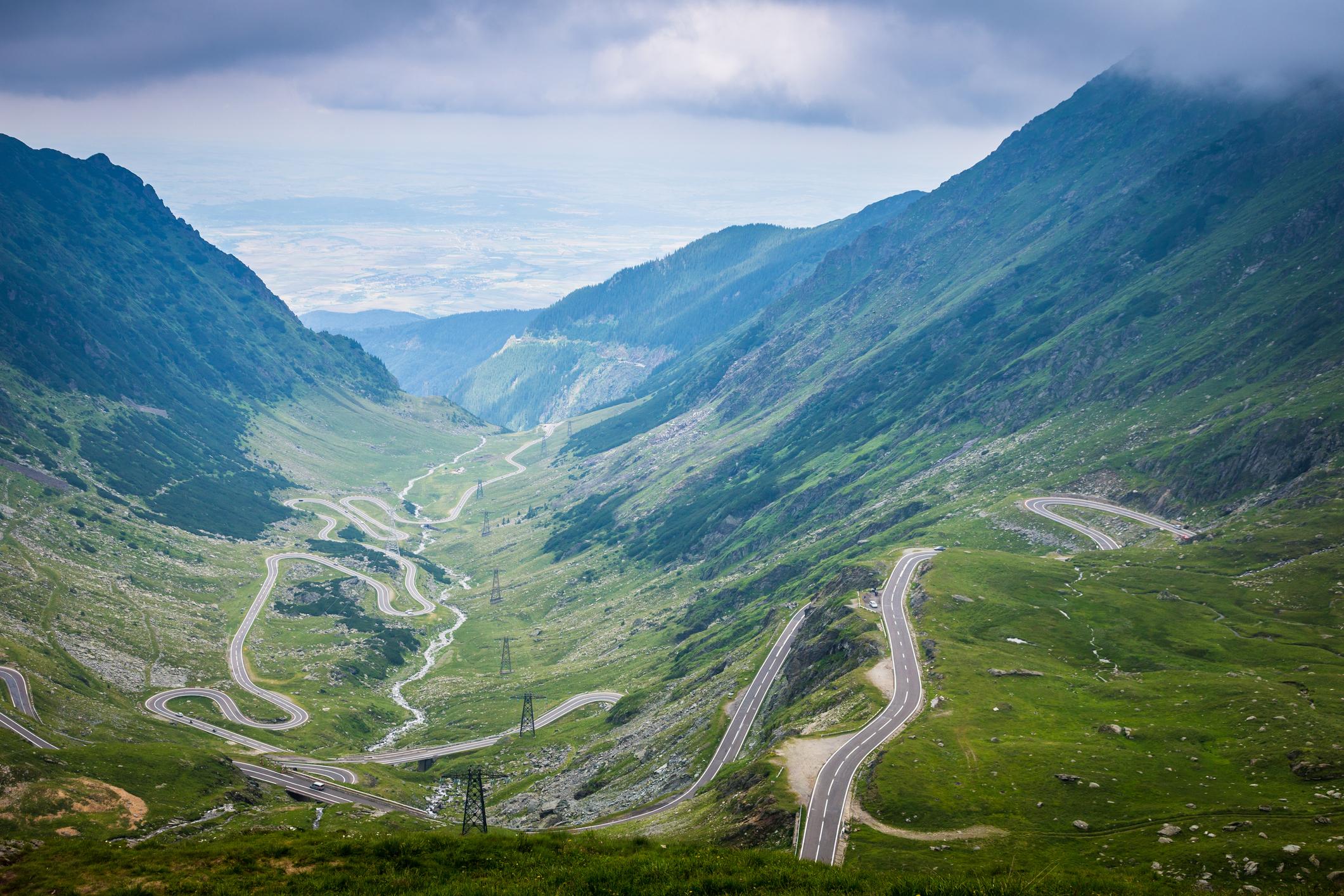 Carpathian Mountains in Transylvania