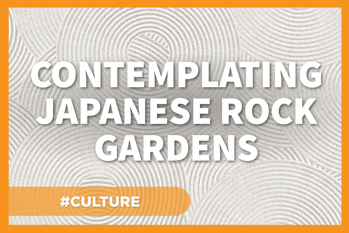Contemplating Japanese Rock Gardens