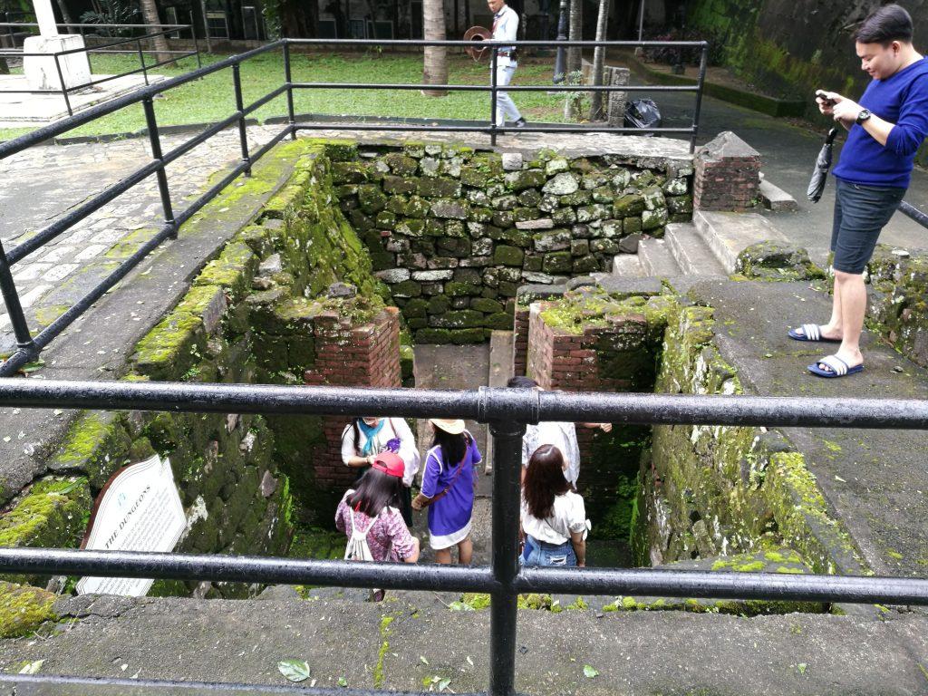 Dungeons of Fort Santiago in Intramuros