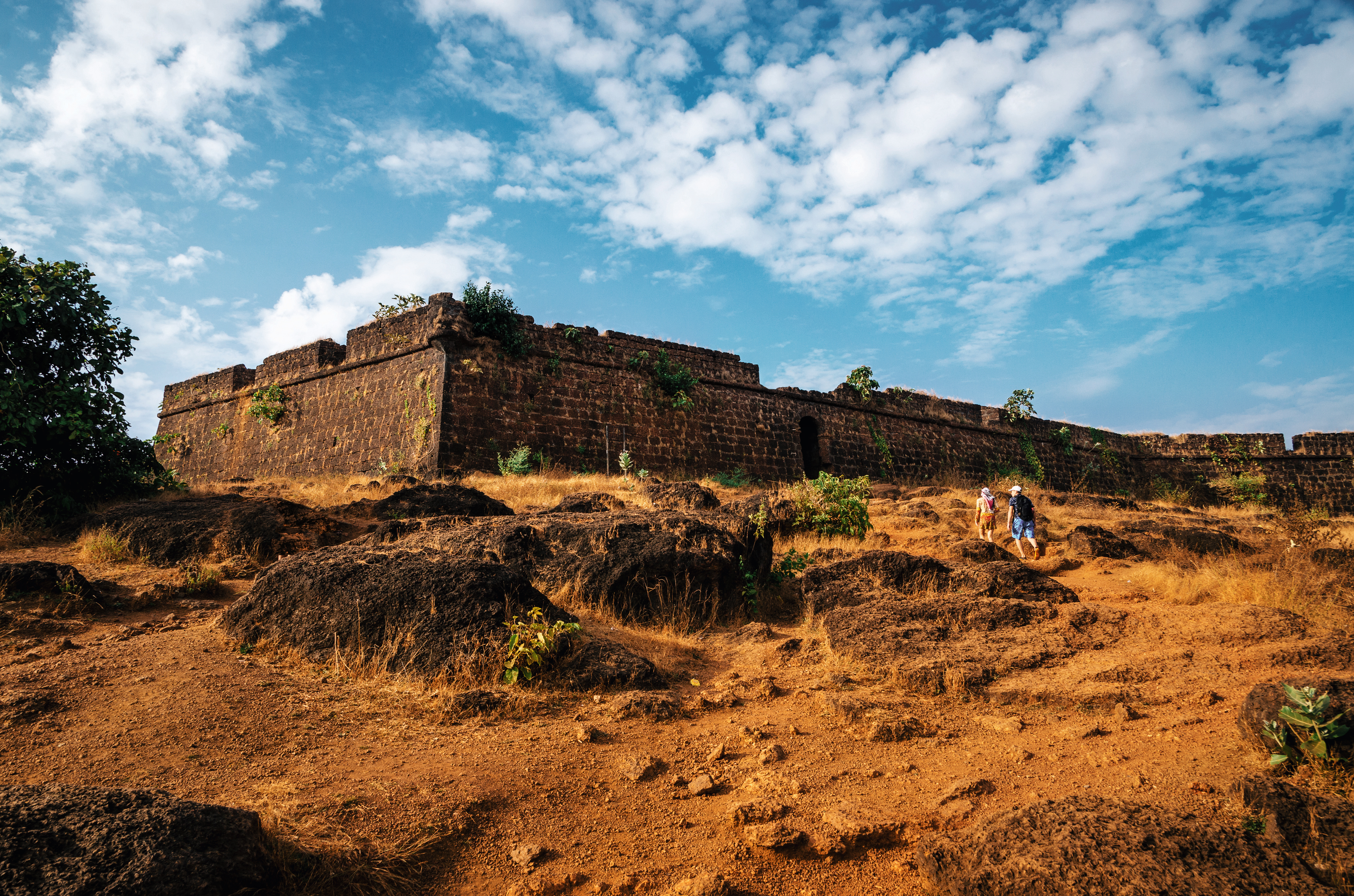 Ruins of Chapora Fort