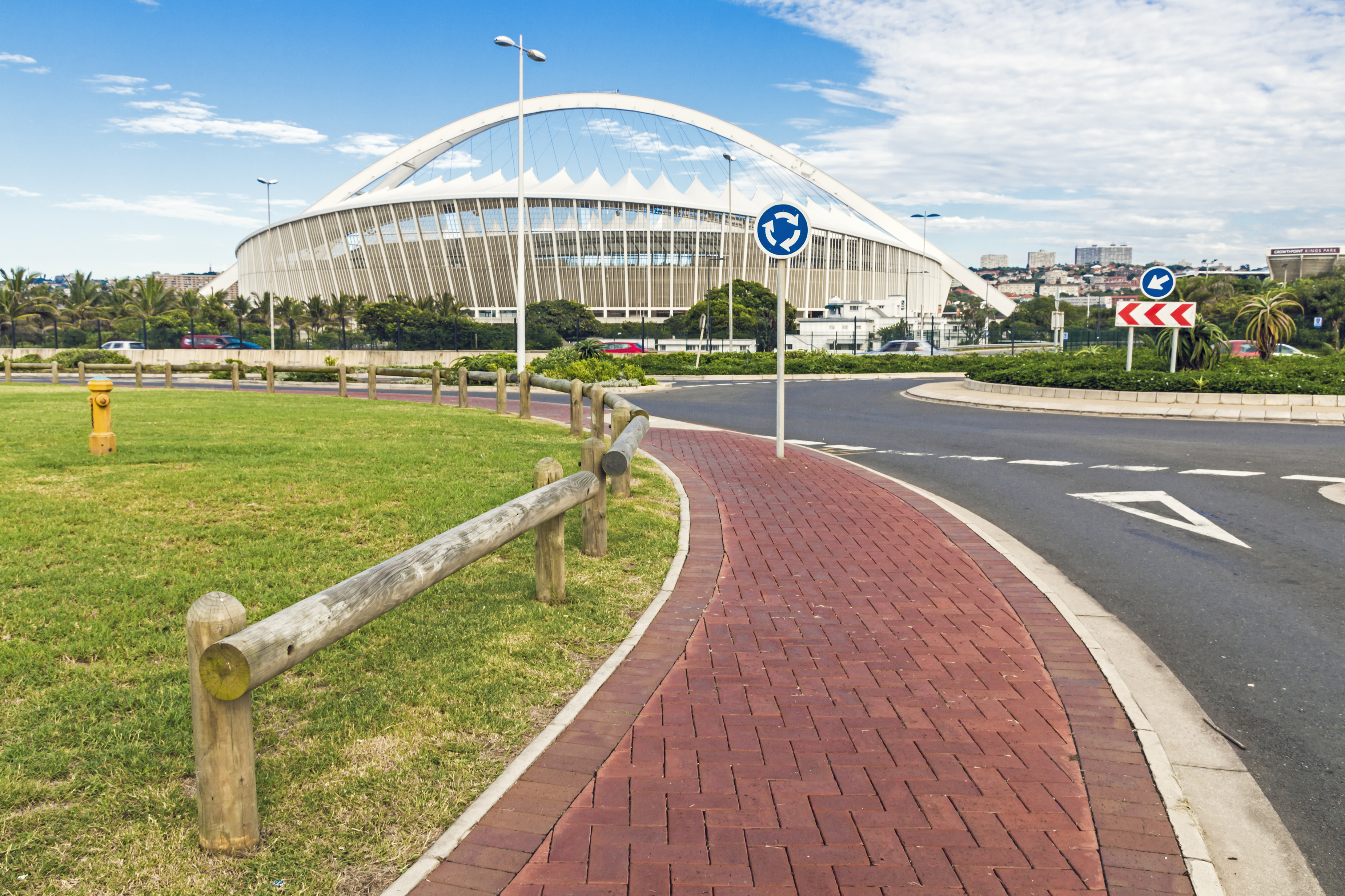 Finish venue for Comrades 2020
