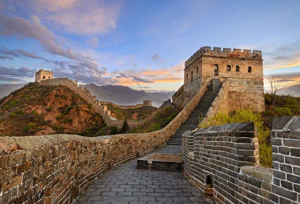 The Great Wall of China - one of the new seven wonders of the world