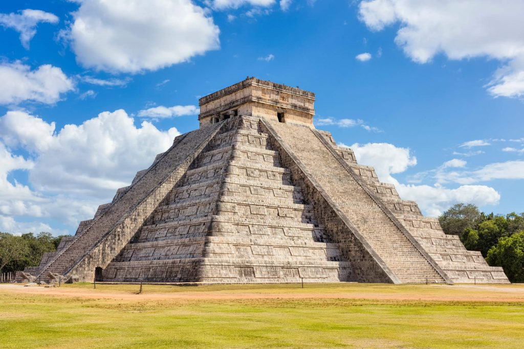 Chichen Itza - one of the seven new wonders of the world