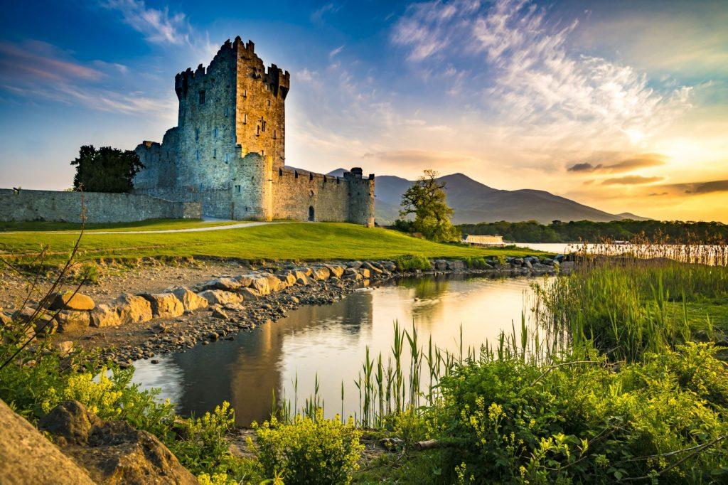 Ireland countryside - Ross Castle