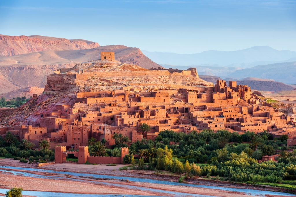 Aït Ben Haddou - Ancient city in Morocco North Africa on the edge of the Sahara desert