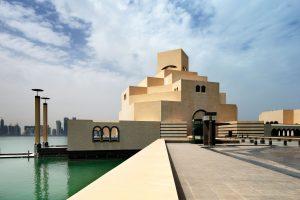 Islamic Museum of Art on the coast of Doha