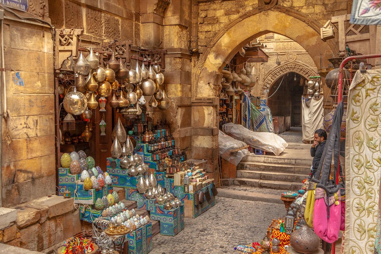 El Khalili Market in Cairo, Egypt