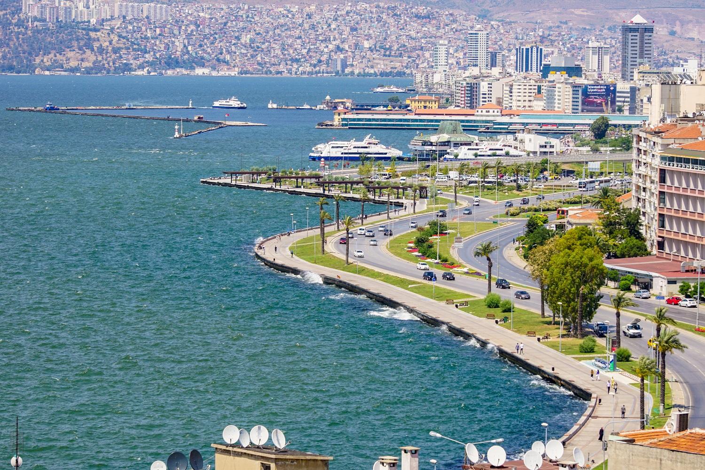 seaside of Izmir-turkey