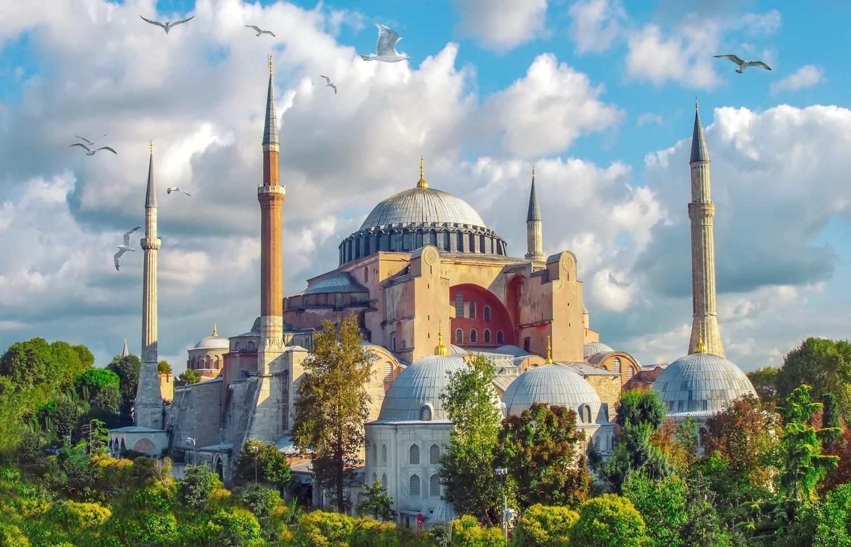 Hagia Sophia mosque-turkey