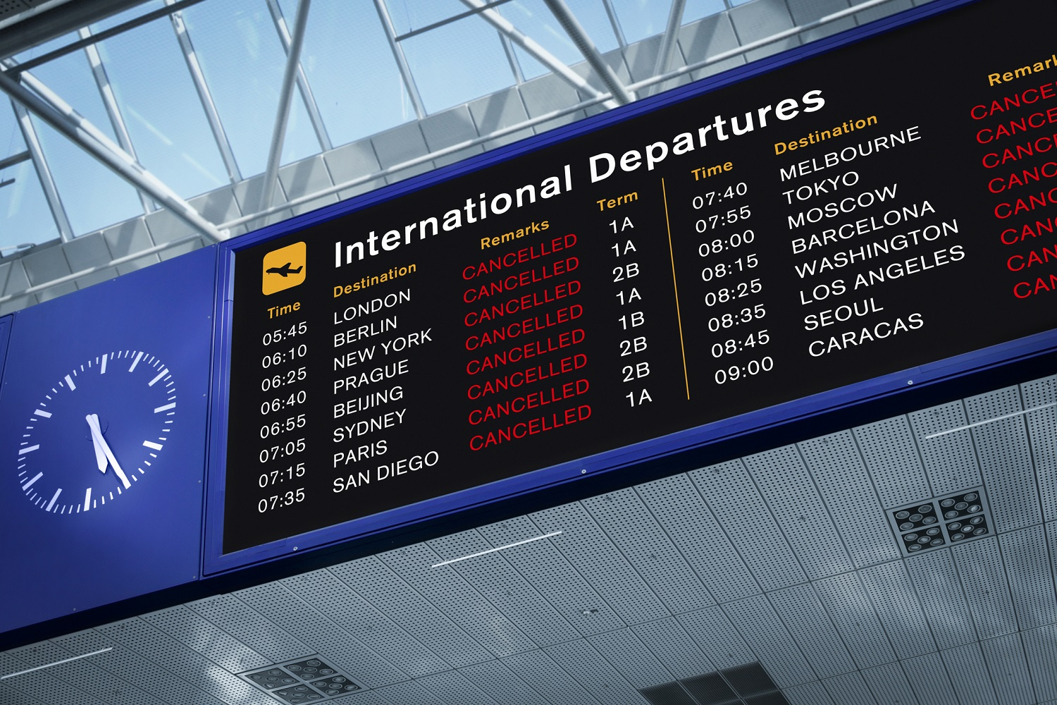 Board-with-cancelled-flights