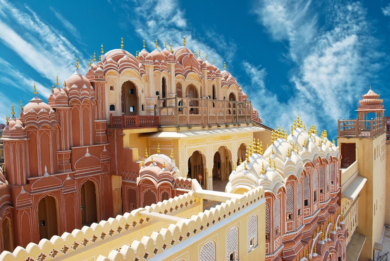 Jaipur Hawa Mahal Palace-Rajasthan in Jaipur India
